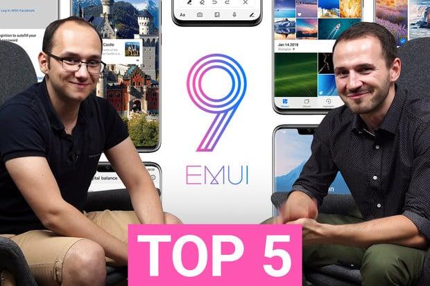 TOP 5 věcí, které se nám líbí na nadstavbách EMUI a Magic UI