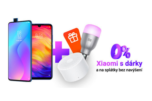 Využijte akci Týden s Xiaomi s praktickými dárky zdarma a splátkami bez navýšení