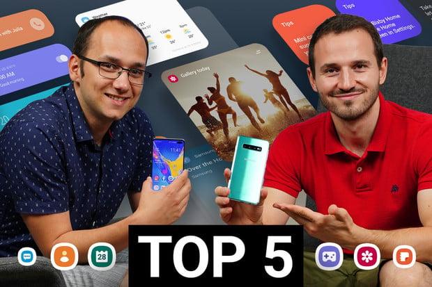 TOP 5 věcí, které se nám líbí na nadstavbě One UI od Samsungu