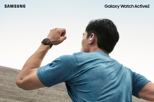 Přivítejte Galaxy Watch Active2. Chytré hodinky s digitální lunetou a podporou EKG