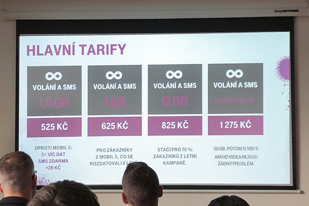 T-Mobile představil nové tarify, kompletně neomezený stojí 1 575 Kč