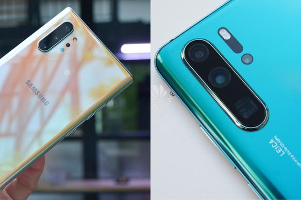 Zvítězí proměnlivá clona, nebo 40Mpx RYYB senzor? Galaxy Note10+ vs. Huawei P30 Pro