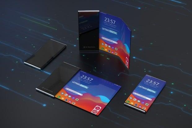 LG si patentovalo pokročilý ohebný telefon. Displej se ohýbá víckrát