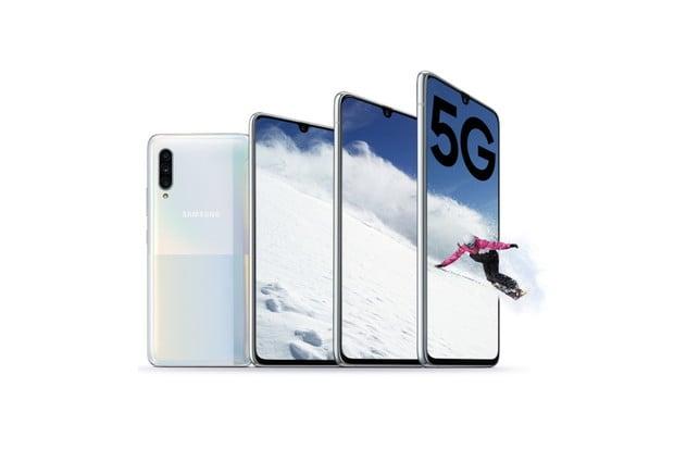 Samsung Galaxy A90 je tady. Podporuje 5G i režim DeX