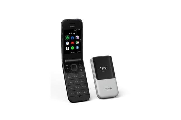 Nokia 2720 Flip je véčkem s velkým displejem a podporou 4G