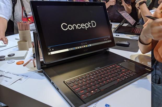 """Acer ConceptD 9 Pro je """"notebook"""" za 150 tisíc korun"""
