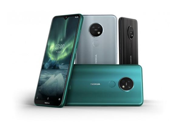 Nokia 7.2 ze střední třídy vytáhne do boje se 48megapixelovým Carl-Zeiss foťákem