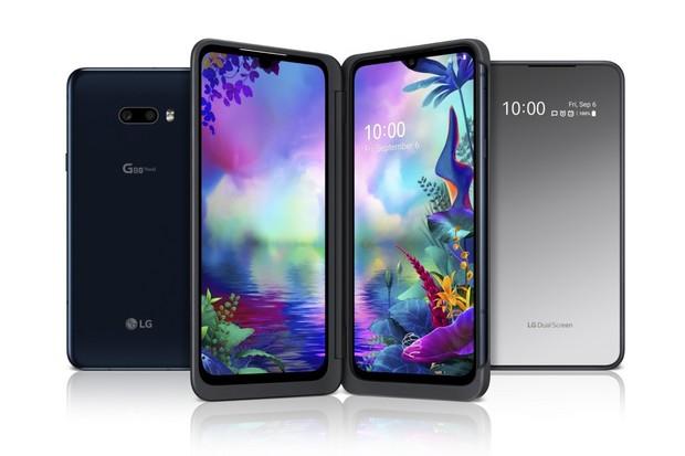 LG G8X ThinQ má výkon, OLED displej a možnost připojit druhý displej