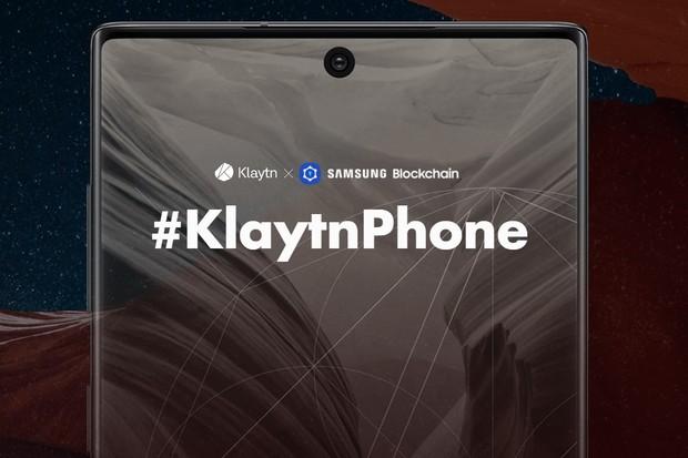 I Samsung má svůj blockchainový telefon. Vychází z Note10 a jmenuje se KlaytnPhone