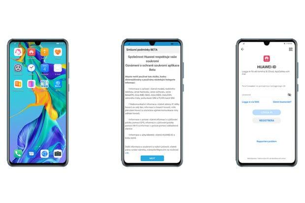 Huawei zve k testování nového EMUI 10 s tmavým režimem a dalšími novinkami