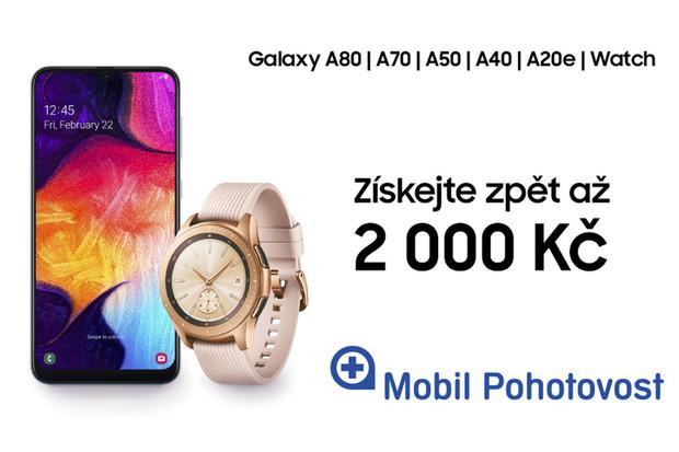 Zářivý Samsung cashback láká na neodolatelnou slevu až 2 000 Kč
