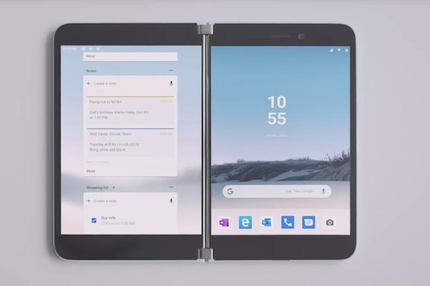 Microsoft odhaluje, jak bude fungovat Surface Duo se 2 displeji