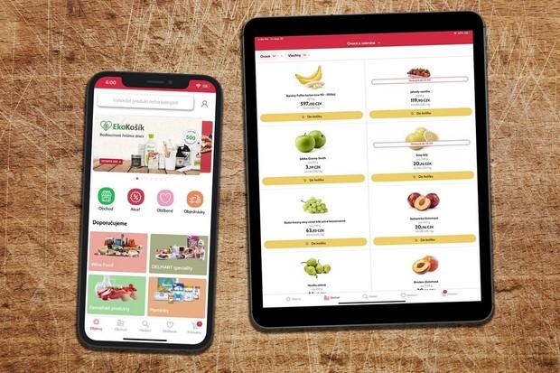 Košík.cz představil nový web a aplikaci