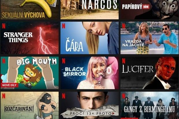 Netflix válcuje konkurenci. Má miliardu instalací na zařízeních s Androidem
