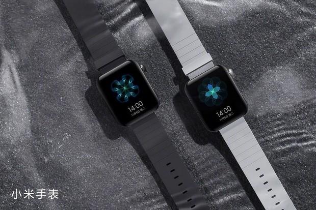 Tohle nejsou Apple Watch, ale Xiaomi Mi Watch s Wear OS