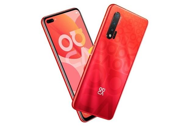 Huawei nova 6 s 5G uniká v červené barevné variantě