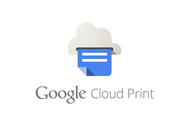 Google ruší další službu. Jeho Cloud Print končí na konci příštího roku