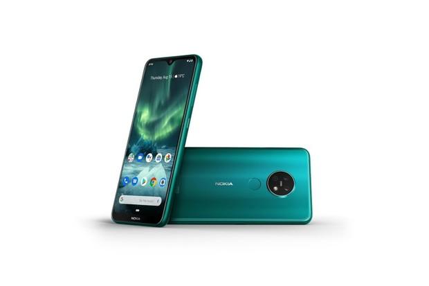 Nokia 7.2 je ještě atraktivnější, zahalila se do zeleného odstínu