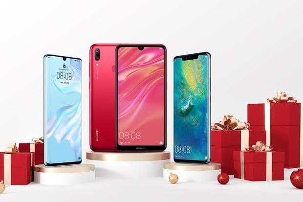 Huawei na Mikuláše zlevňuje letošní řadu Y