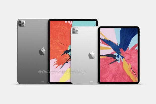 V březnu se očekávají nové iPady Pro. Apple je osadí třemi zadními fotoaparáty