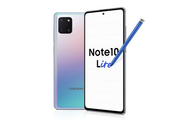 Samsung Galaxy Note10 Lite je tu. Má stylus a tři fotoaparáty