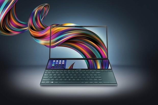 ASUS ZenBook Duo je notebook s druhým velkým displejem nad klávesnicí
