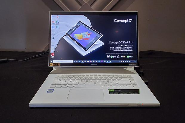 Konvertibly Acer ConceptD 7 Ezel jsou připraveny na ty nejnáročnější úkoly