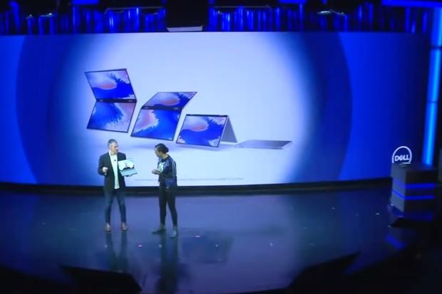 I Dell chce počítače skládat a ohýbat. Ukázal zajímavé koncepty