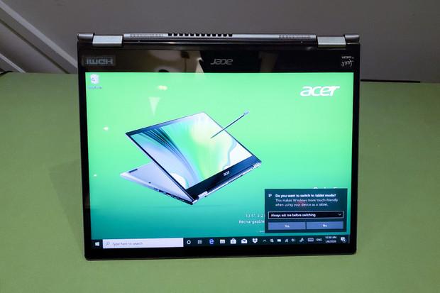 Acer vylepšuje řadu konvertibilních notebooků Spin