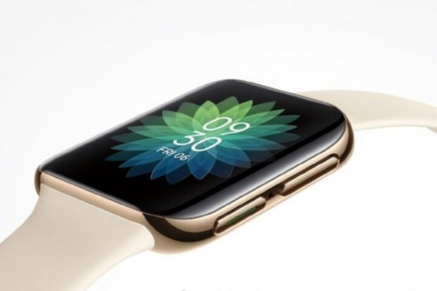 Unikl další obrázek chytrých hodinek Oppo. Budou mít zakřivené sklo