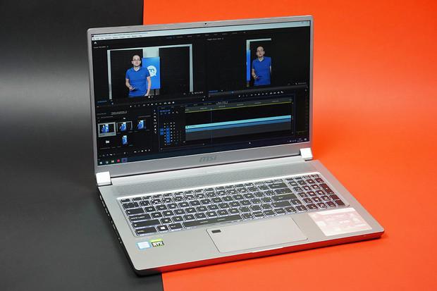 MSI P75 Creator je nenápadný pracant vhodný pro střih videa