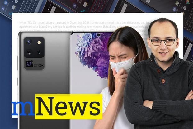 Obří foťák Galaxy S20 Ultra a útok koronaviru na svět mobilů