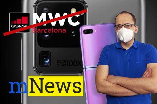 MWC oficiálně zrušeno a čerstvé novinky od Samsungu