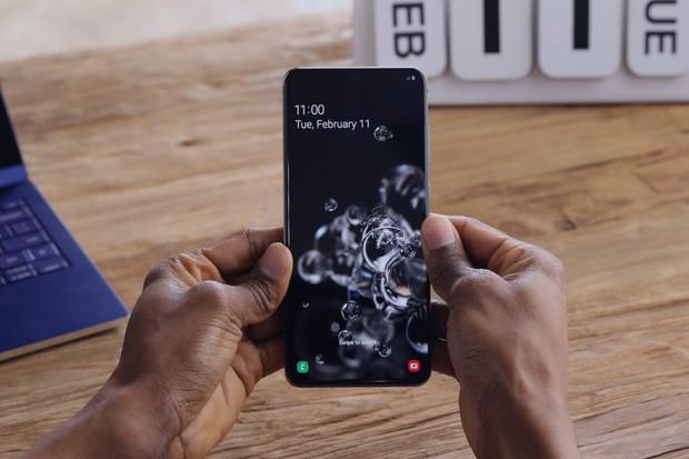 Displej Galaxy S20 Ultra 5G se pyšní nevídaně vysokou barevnou přesností