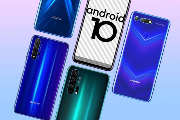 Honor vydává nejnovější Android 10 pro řadu Honor 20 a Honor 9X