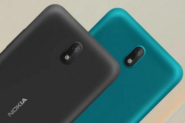 Nokia C2 je telefon pro absolutně nenáročné spřisvětlením čelní 5Mpx kamerky