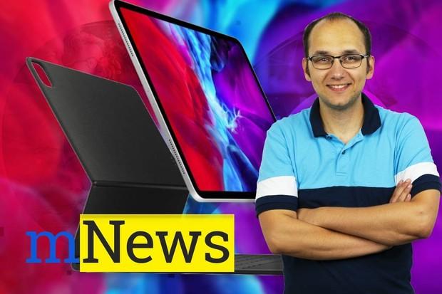 iPad Pro s touchpadem a bojující operátoři