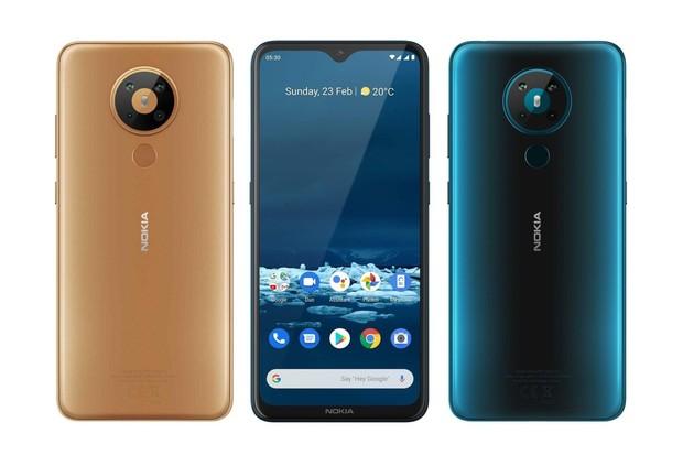 Nokia 5.3 je poctivou nižší střední třídou s Androidem 10 a 4 fotoaparáty