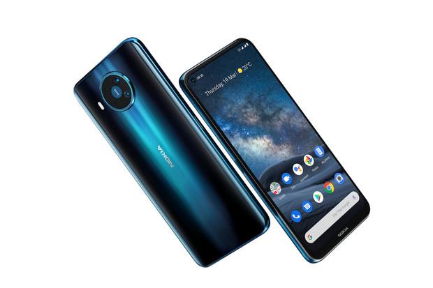 Právě představená Nokia 8.3 5G láká na 64Mpx fotoaparát a Snapdragon 765G