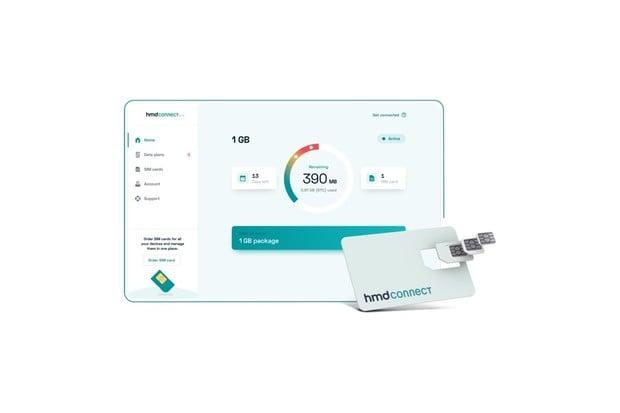 HMD Connect je speciální roamingová datová SIM karta pro 120 zemí