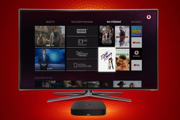 Vodafone spustil novou digitální televizi. Začíná na 150 Kč měsíčně