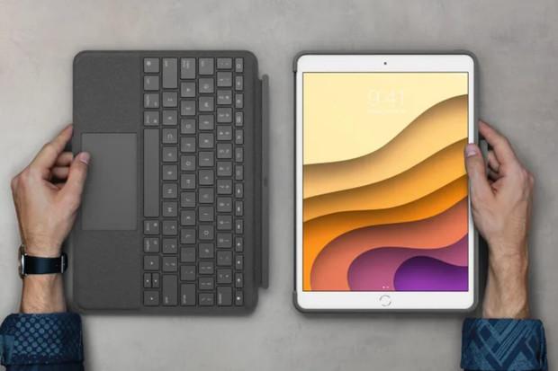 Klávesnice Logitech pro iPady nabídnou touchpad a stojí polovinu ceny Magic Keyboard