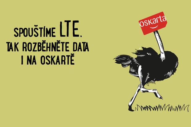 I zákazníci Oskarty si mohou užít rychlá mobilní data v sítí 4G LTE