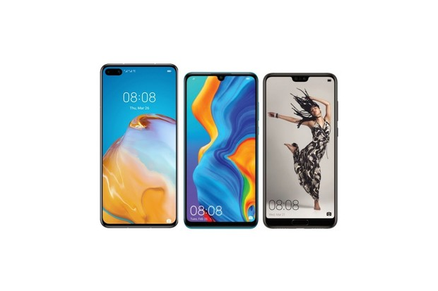 Tak jde čas. Huawei P40 (Pro) vs. P30 (Pro) a P20 (Pro)