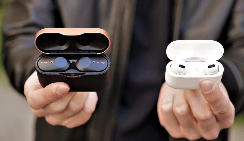 Sony WF-1000XM3 vs. Apple AirPods Pro