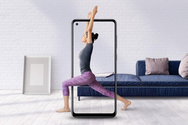 Samsung Galaxy A21s je novinkou se 4 fotoaparáty a silnou baterií
