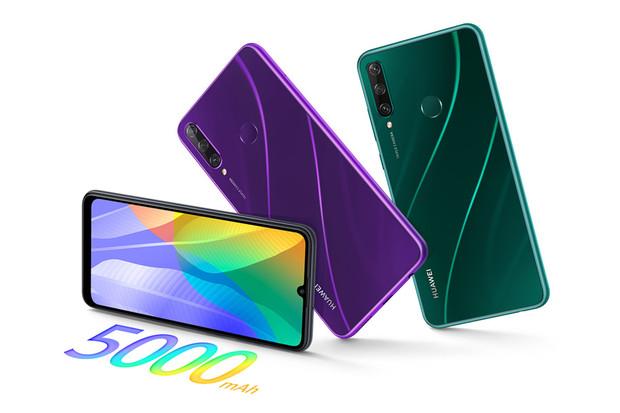 Huawei Y6p a Y5p: levná a ještě levnější novinka bez Google služeb
