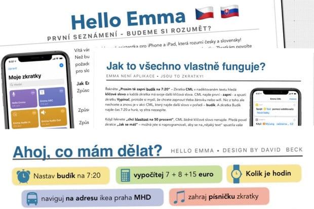 Už váš nebaví čekat na to, až se Siri naučí česky? Vyzkoušejte Hello Emma