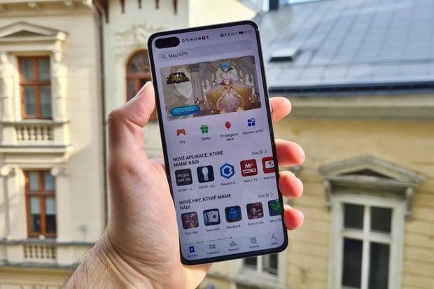 Aplikace George a George Klíč od České spořitelny jsou v Huawei AppGallery