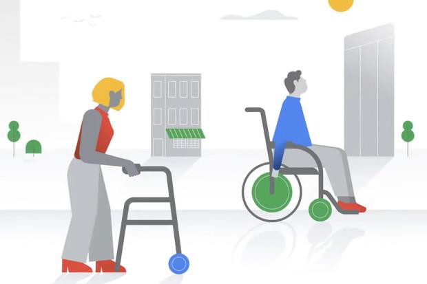Google Mapy nově vyznačí místa přístupná pro vozíčkáře